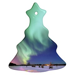 Aurora Borealis Alaska Space Ornament (christmas Tree)