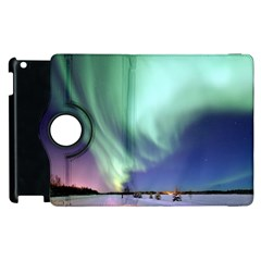Aurora Borealis Alaska Space Apple Ipad 3/4 Flip 360 Case