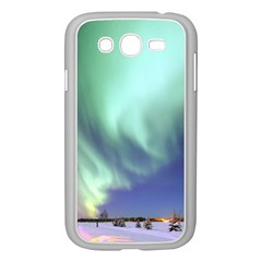 Aurora Borealis Alaska Space Samsung Galaxy Grand Duos I9082 Case (white) by BangZart