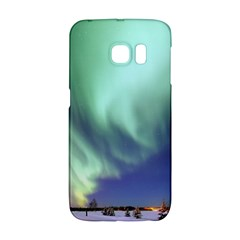 Aurora Borealis Alaska Space Galaxy S6 Edge by BangZart
