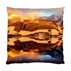 France Snow Winter Sunrise Fog Standard Cushion Case (one Side)