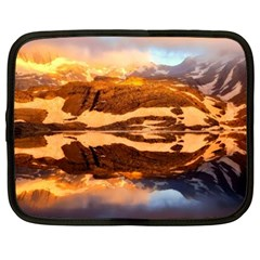 France Snow Winter Sunrise Fog Netbook Case (xxl)