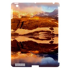 France Snow Winter Sunrise Fog Apple Ipad 3/4 Hardshell Case (compatible With Smart Cover)