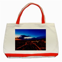 The Hague Netherlands City Urban Classic Tote Bag (red)