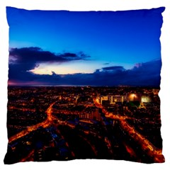 The Hague Netherlands City Urban Large Cushion Case (two Sides)