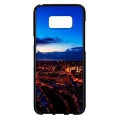 The Hague Netherlands City Urban Samsung Galaxy S8 Plus Black Seamless Case