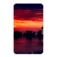 New York City Urban Skyline Harbor Memory Card Reader