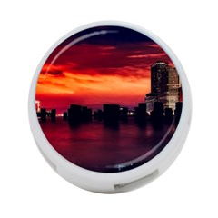 New York City Urban Skyline Harbor 4 Port Usb Hub (two Sides)
