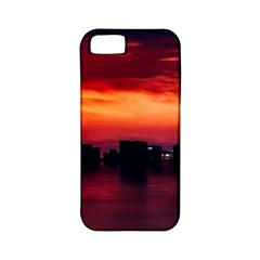New York City Urban Skyline Harbor Apple Iphone 5 Classic Hardshell Case (pc+silicone)