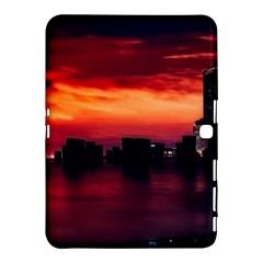 New York City Urban Skyline Harbor Samsung Galaxy Tab 4 (10 1 ) Hardshell Case