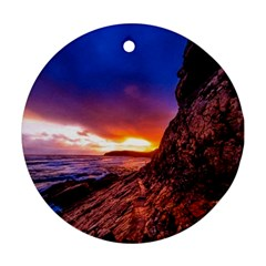 South Africa Sea Ocean Hdr Sky Ornament (round)