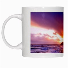 South Africa Sea Ocean Hdr Sky White Mugs