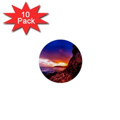 South Africa Sea Ocean Hdr Sky 1  Mini Buttons (10 Pack)