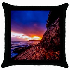 South Africa Sea Ocean Hdr Sky Throw Pillow Case (black) by BangZart