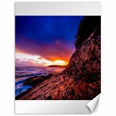 South Africa Sea Ocean Hdr Sky Canvas 12  X 16