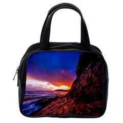 South Africa Sea Ocean Hdr Sky Classic Handbags (one Side) by BangZart