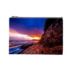 South Africa Sea Ocean Hdr Sky Cosmetic Bag (large)