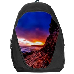 South Africa Sea Ocean Hdr Sky Backpack Bag