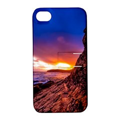 South Africa Sea Ocean Hdr Sky Apple Iphone 4/4s Hardshell Case With Stand