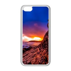 South Africa Sea Ocean Hdr Sky Apple Iphone 5c Seamless Case (white)