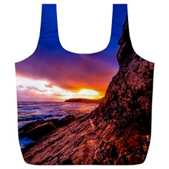 South Africa Sea Ocean Hdr Sky Full Print Recycle Bags (l)