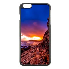 South Africa Sea Ocean Hdr Sky Apple Iphone 6 Plus/6s Plus Black Enamel Case