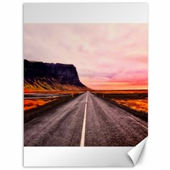 Iceland Sky Clouds Sunset Canvas 36  X 48