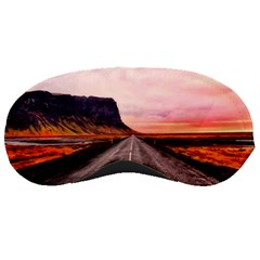 Iceland Sky Clouds Sunset Sleeping Masks