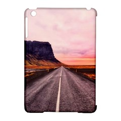 Iceland Sky Clouds Sunset Apple Ipad Mini Hardshell Case (compatible With Smart Cover)
