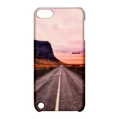 Iceland Sky Clouds Sunset Apple Ipod Touch 5 Hardshell Case With Stand