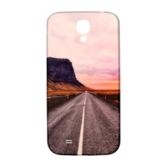 Iceland Sky Clouds Sunset Samsung Galaxy S4 I9500/i9505  Hardshell Back Case