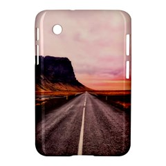 Iceland Sky Clouds Sunset Samsung Galaxy Tab 2 (7 ) P3100 Hardshell Case  by BangZart