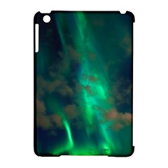 Northern Lights Plasma Sky Apple Ipad Mini Hardshell Case (compatible With Smart Cover) by BangZart