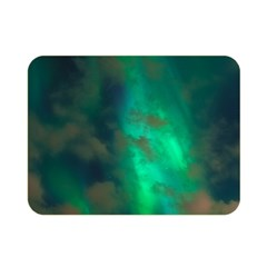 Northern Lights Plasma Sky Double Sided Flano Blanket (mini)