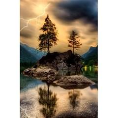 Sunset Dusk Sky Clouds Lightning 5 5  X 8 5  Notebooks by BangZart
