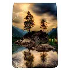 Sunset Dusk Sky Clouds Lightning Flap Covers (l)  by BangZart