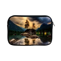 Sunset Dusk Sky Clouds Lightning Apple Ipad Mini Zipper Cases