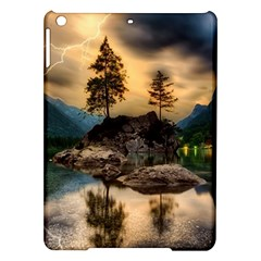 Sunset Dusk Sky Clouds Lightning Ipad Air Hardshell Cases by BangZart