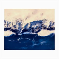 Antarctica Mountains Sunrise Snow Small Glasses Cloth (2 Side)