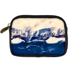 Antarctica Mountains Sunrise Snow Digital Camera Cases