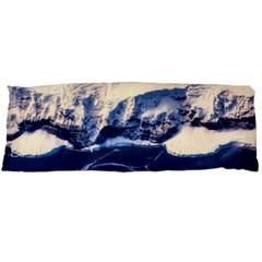 Antarctica Mountains Sunrise Snow Body Pillow Case Dakimakura (two Sides)