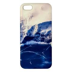 Antarctica Mountains Sunrise Snow Iphone 5s/ Se Premium Hardshell Case by BangZart