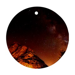 Italy Night Evening Stars Ornament (round) by BangZart