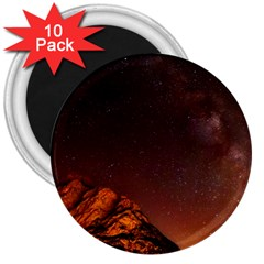 Italy Night Evening Stars 3  Magnets (10 Pack)