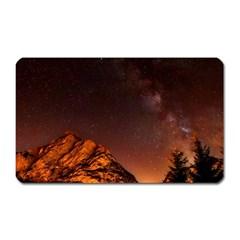 Italy Night Evening Stars Magnet (rectangular)