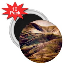 Iceland Mountains Sky Clouds 2 25  Magnets (10 Pack)