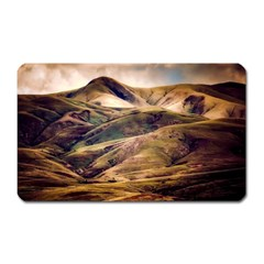 Iceland Mountains Sky Clouds Magnet (rectangular) by BangZart