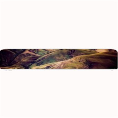 Iceland Mountains Sky Clouds Small Bar Mats