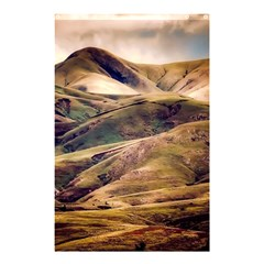 Iceland Mountains Sky Clouds Shower Curtain 48  X 72  (small)