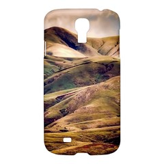 Iceland Mountains Sky Clouds Samsung Galaxy S4 I9500/i9505 Hardshell Case by BangZart